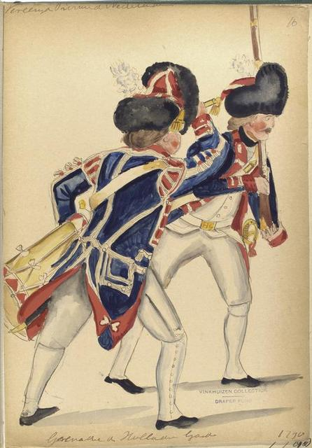 Vereenigde Provincien der Nederlanden. Grenadier de Holanndes Garde.