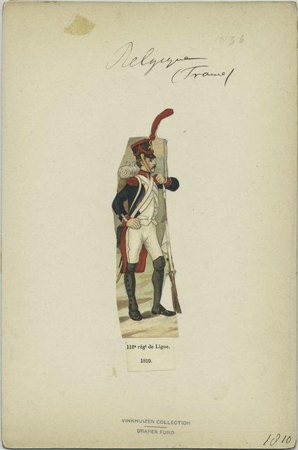 112e régiment de ligne. 1810