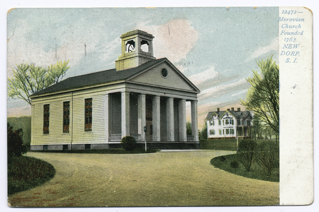 12472 Moravian Church Founded 1763, New Dorp, Staten Island