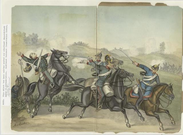 14th Wrudisch-Grätz Dragoons, 1866