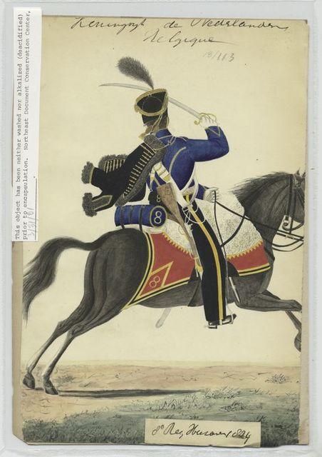 8e régiment, Hussards