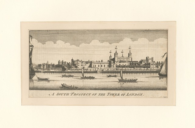 A south prospect of the tower of London