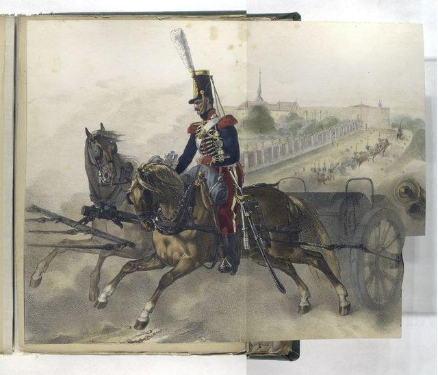 Artilleria de la Guardia Real.