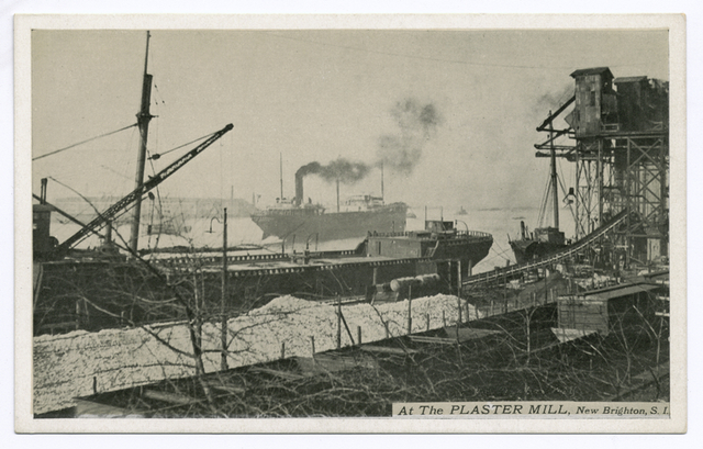 At the Plaster Mill, New Brighton, Staten Island