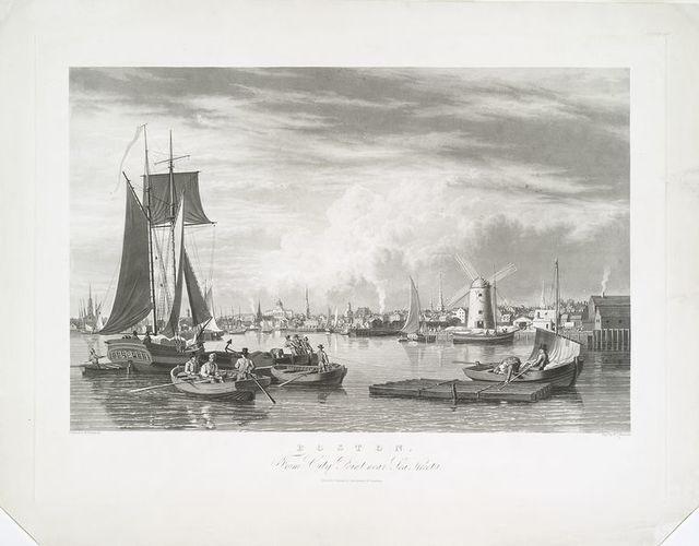 Boston, from City Point near Sea Street.