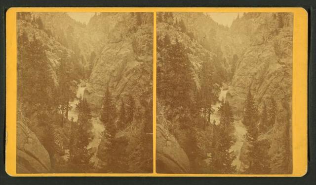 Boulder Canyon, falls.