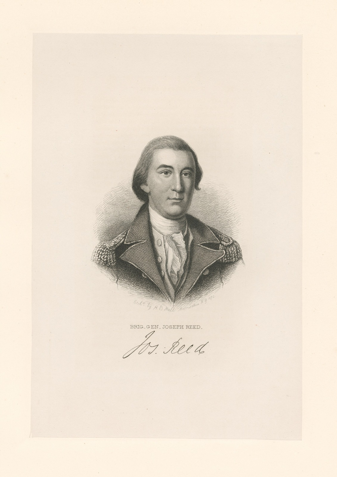 Brig. Gen. Joseph Reed