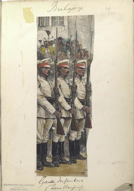 Bulgarije. Garde Infanterie ().