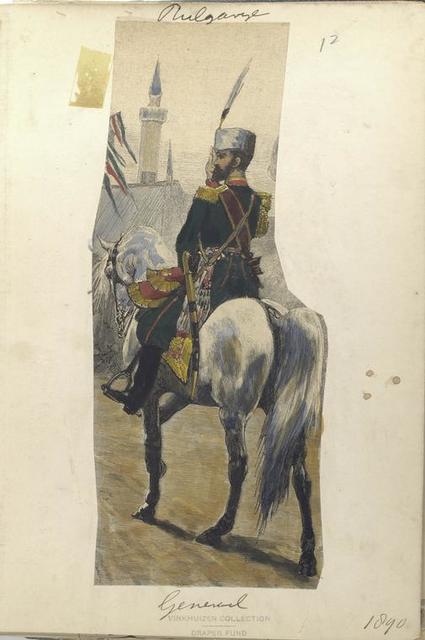 Bulgarije. Generaal. (1890)