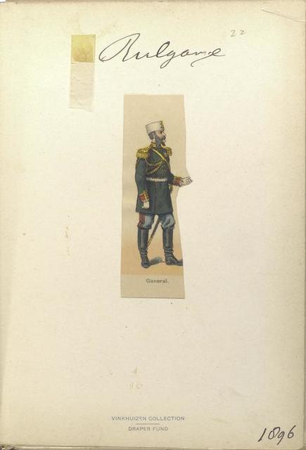 Bulgarije. General. (1896)