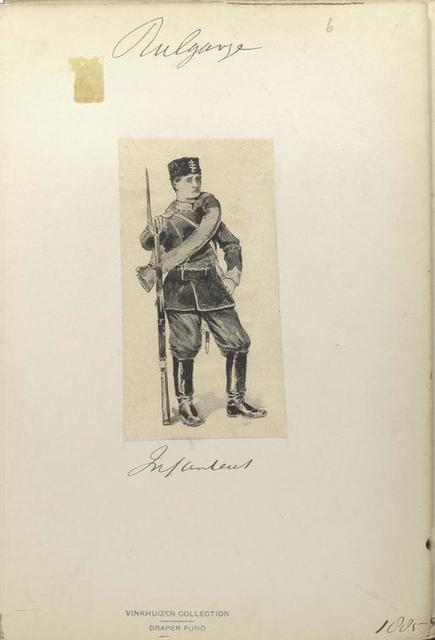 Bulgarije. [Infantry]. (1885)