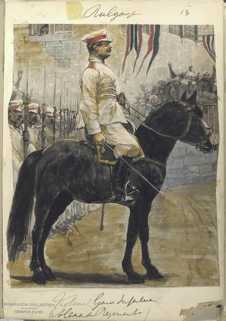 Bulgarije. Kolonel Garde Infanterie (Alexander Regiment).