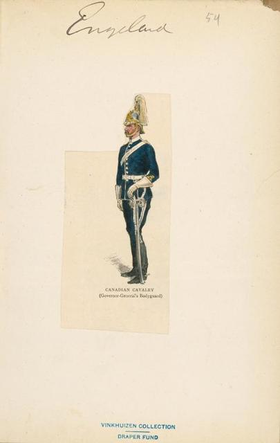 Canadian Cavalry (Governor-General's bodyguard).
