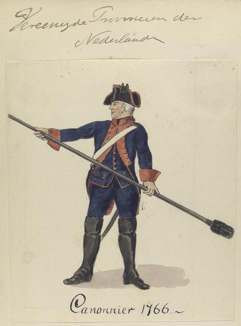 Canonnier. 1766