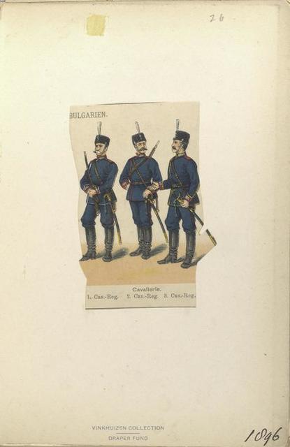 Cavalerie, 1.Cav.-Reg., 2. Cav.-Reg. 3. Cav.-Reg. (1896)