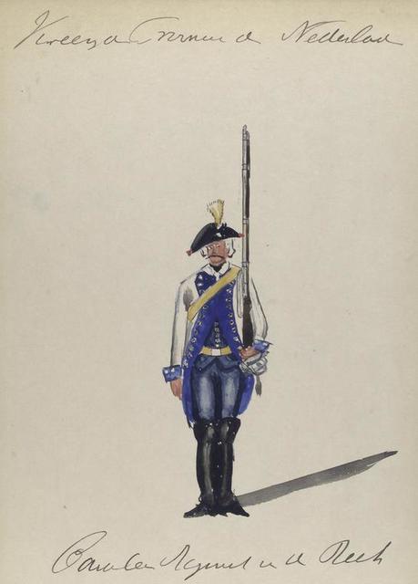 Cavalerie Regiment []. 1766