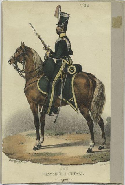 Chasseur à cheval. 1er régiment.