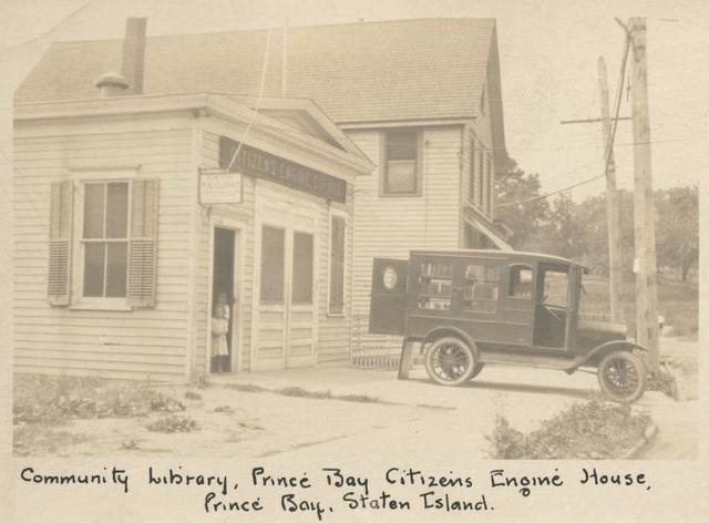 Community Library, Prince Bay Citizen's Engine House, Prince Bay, Staten Island