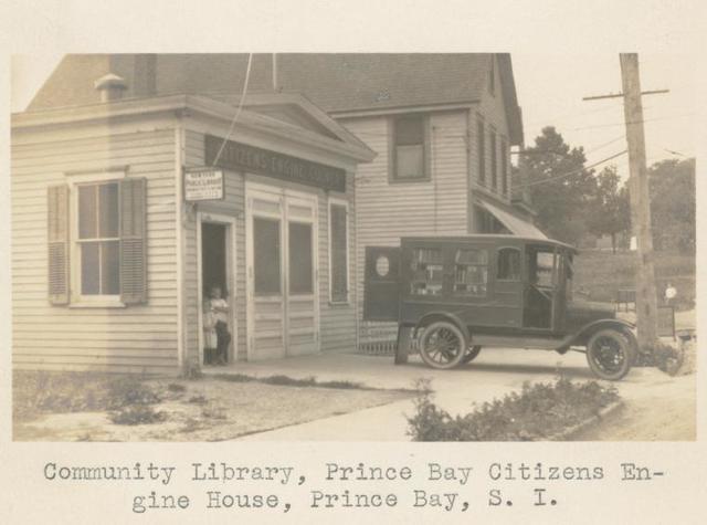 Community Library, Prince Bay Citizen's Engine House, Prince Bay, Staten Island