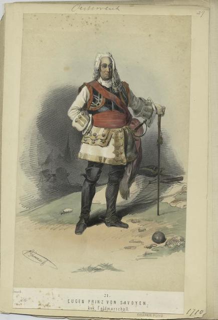 Eugen Prinz von Savoyen, k.k. Feldmarschall