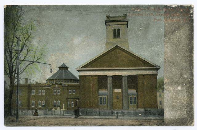 First Reformed Church founded 1716, Port Richmond, Staten Island