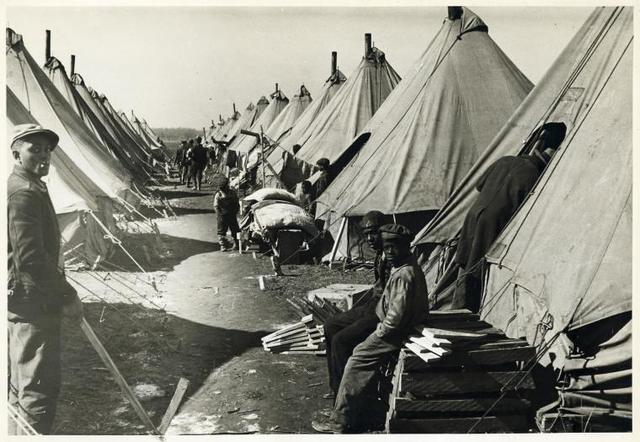 Flood refugee camp, Forrest City, Ark.