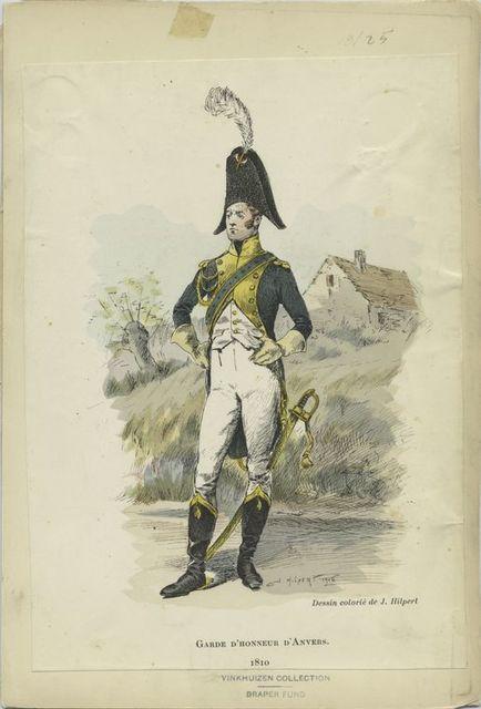 Garde d'honneur d'Anvers. 1810.