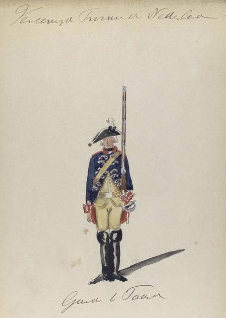 Garde te Paard.  1766