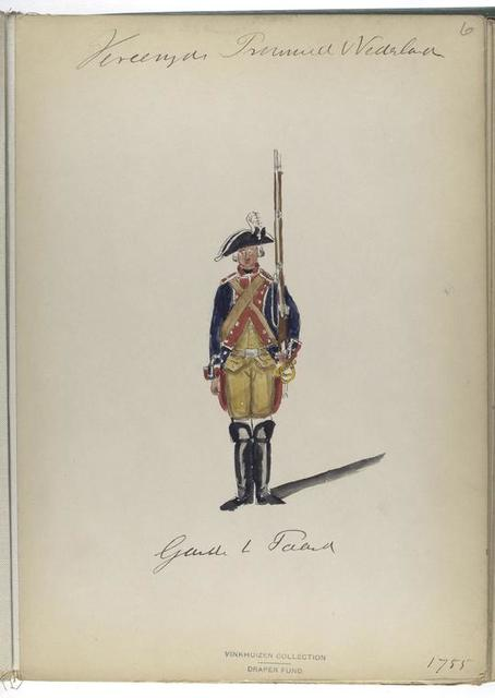 Gardes te Paard. 1755