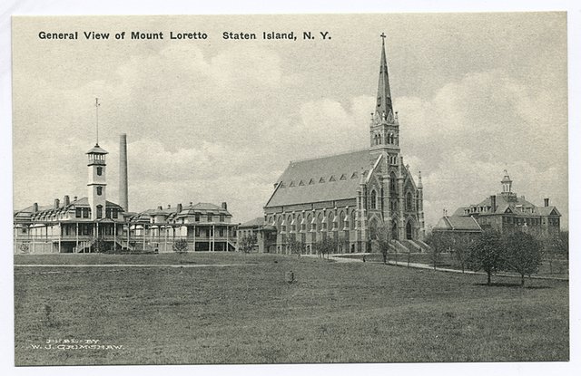 General View of Mount Loretto Staten Island, N.Y.