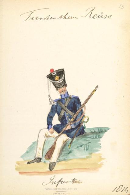 Germany, Reuss, 1702-1896