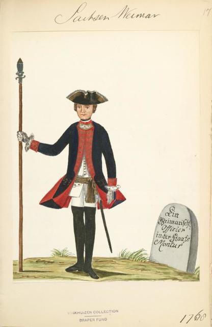 Germany, Saxe-Weimar Eisenach, 1702-1775