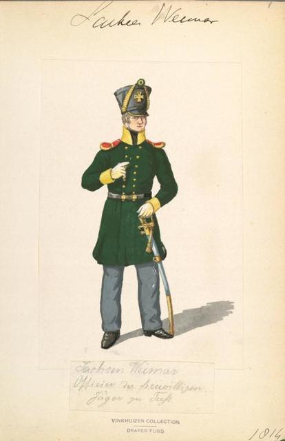 Germany, Saxe-Weimar Eisenach, 1813-1840