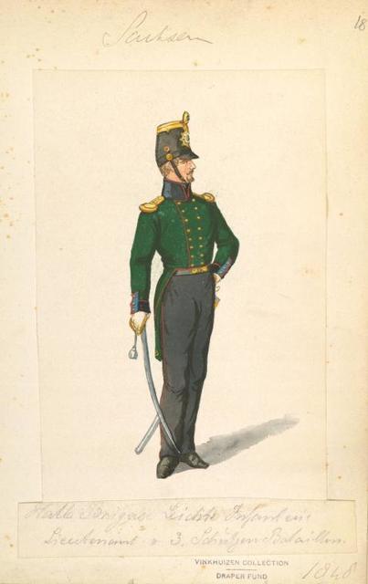 Germany. Saxony. 1840-1850