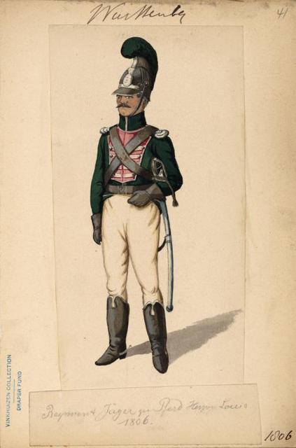 Germany. Würtemberg. 1800-1806