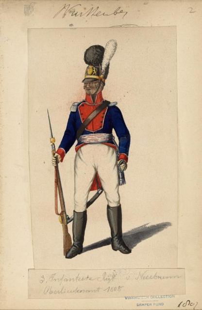 Germany. Würtemberg. 1807-1809.