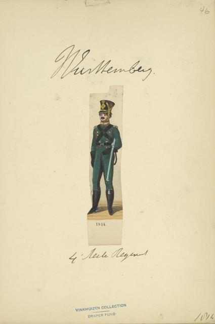 Germany, Württemberg, 1813-1814