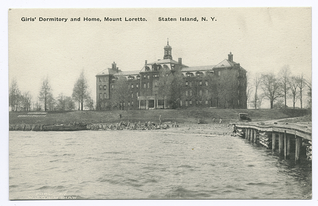 Girl's Dormitory and Home, Mount Loretto, Staten Island, N.Y.