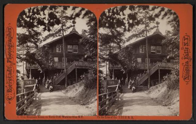 Glen mountain house on North Cliff, Watkins Glen, N.Y.