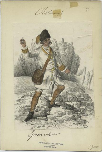 Grenader. 1700