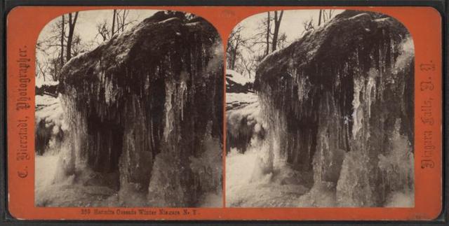 Hermit's Cascade, Winter, Niagara N.Y.