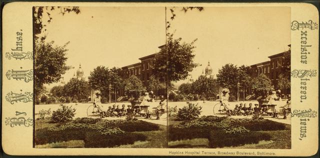 Hopkins Hospital Terrace, Broadway Boulevard, Baltimore, Md.