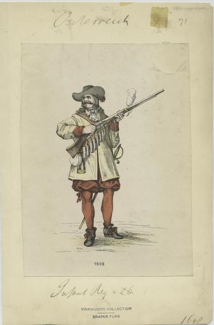 Infanterie Reg. . 1698