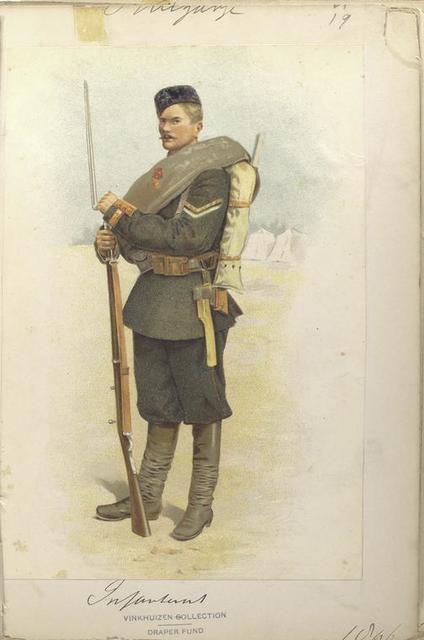 Infanterist. (1896)