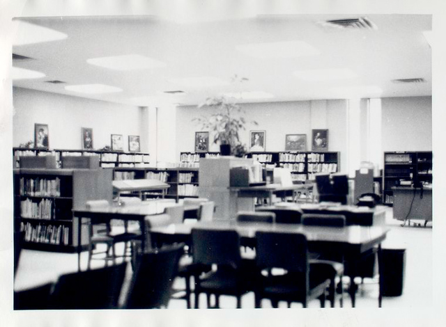 Interior of the Dongan Hills Library
