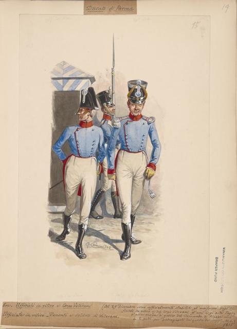 Italy. Parma, 1814-1819.