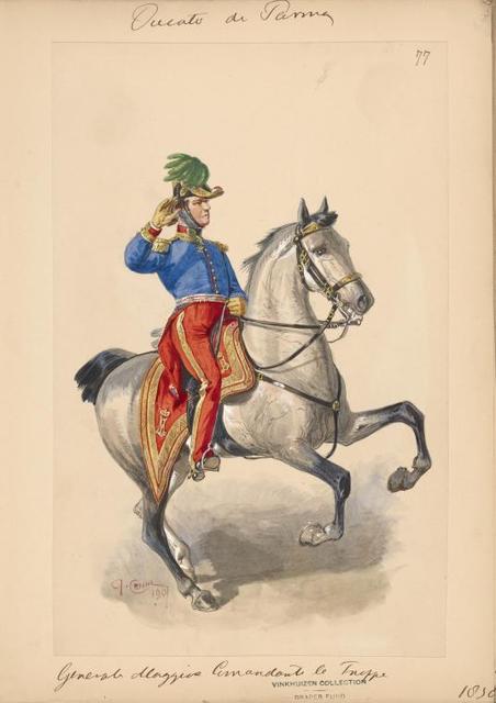 Italy. Parma, 1830-1835.