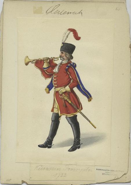 Kürassier Trompeter 1722