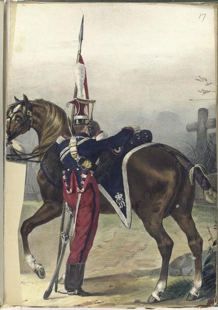 Lanceros de la Guardia Real.