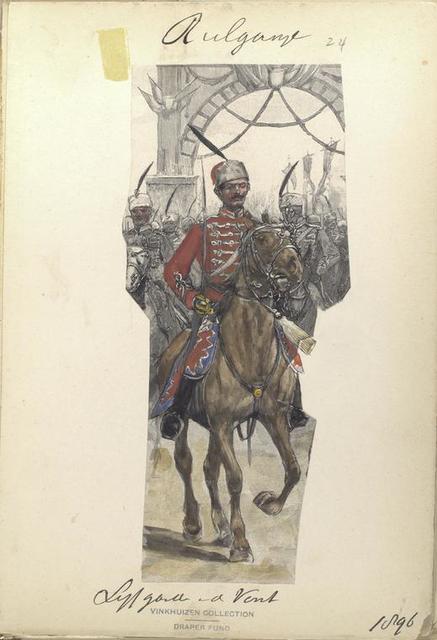 Life Guard Cavalry Squadron, 1896 (?)